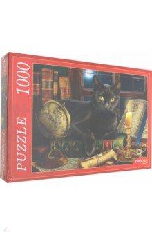 Купить Puzzle-1000 ЧЕРНЫЙ КОТ (Ф1000-5152), Рыжий Кот, Пазлы (1000 элементов)