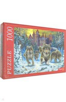 Купить Puzzle-1000 ВОЛКИ И ЗАМОК (Ф1000-6802), Рыжий Кот, Пазлы (1000 элементов)