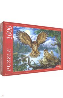 Купить Puzzle-1000 СОВЫ (Ф1000-6808), Рыжий Кот, Пазлы (1000 элементов)