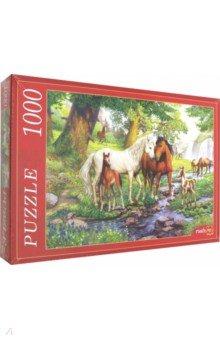 Купить Puzzle-1000 ДОЛИНА ЛОШАДЕЙ (Ф1000-8749), Рыжий Кот, Пазлы (1000 элементов)
