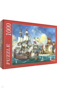 Купить Puzzle-1000 ВОЕННО-МОРСКОЕ НАСТУПЛЕНИЕ (Ф1000-6801), Рыжий Кот, Пазлы (1000 элементов)