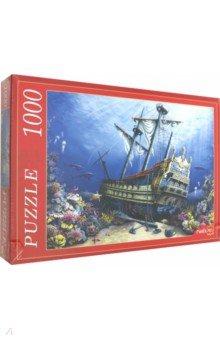 Купить Puzzle-1000 ЗАТОНУВШИЙ КОРАБЛЬ (Ф1000-6805), Рыжий Кот, Пазлы (1000 элементов)
