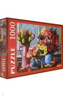 Купить Puzzle-1000 ЯРКИЕ БУКЕТЫ (Ф1000-0520), Рыжий Кот, Пазлы (1000 элементов)