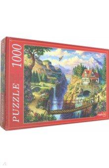 Купить Puzzle-1000 Домик у обрыва (Ф1000-6784), Рыжий Кот, Пазлы (1000 элементов)