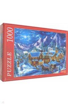 Купить Puzzle-1000 СНЕЖНЫЕ ГОРЫ (Ф1000-7356), Рыжий Кот, Пазлы (1000 элементов)