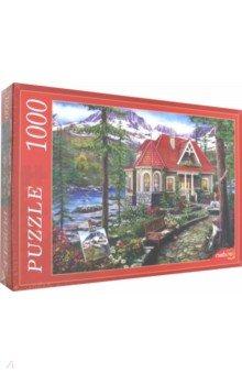 Купить Puzzle-1000 КРАСИВЫЙ ДОМ У ОЗЕРА (Х1000-5154), Рыжий Кот, Пазлы (1000 элементов)