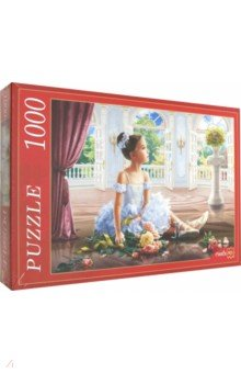 Купить Puzzle-1000 БАЛЕРИНА (Ф1000-8043), Рыжий Кот, Пазлы (1000 элементов)
