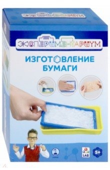 Купить Набор Изготовление бумаги (Т14057), 1TOY, Наборы для опытов