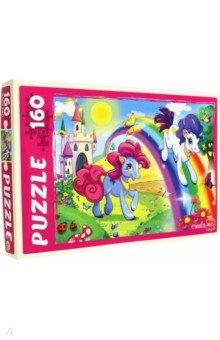 """Puzzle-160 """"УДИВИТЕЛЬНЫЕ ПОНИ"""" (П160-6352)"""