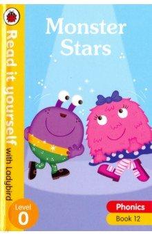 Купить Phonics 12: Monster Stars (HB), Ladybird, Художественная литература для детей на англ.яз.