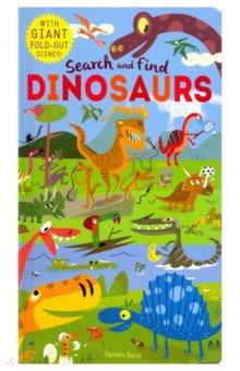Купить Search and Find: Dinosaurs (HB), Little, Brown and Company, Первые книги малыша на английском языке