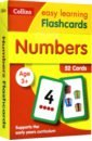Numbers Flashcards Ages 3-5 (52 cards)
