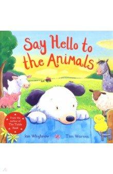 Купить Say Hello to the Animals, Macmillan, Первые книги малыша на английском языке