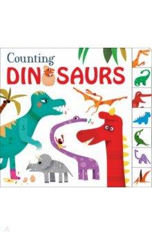 Купить Counting Dinosaurs, Priddy Books, Первые книги малыша на английском языке