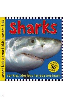 Купить Sharks, Priddy Books, Книги для детского досуга на английском языке