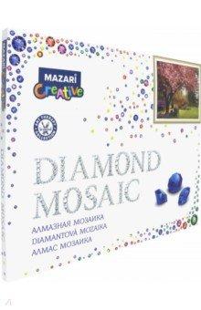 Алмазная мозаика В САДУ 40х50 см (M-10151), ISBN 4680527031808, MAZARI , 468-0-5270-3180-8, 468-0-527-03180-8, 468-0-52-703180-8 - купить со скидкой