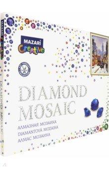 Купить Алмазная мозаика ЛОНДОН ЗИМОЙ, 40х50см (M-10158), MAZARI, Аппликации