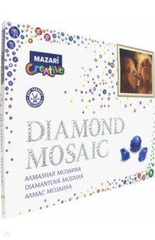 Алмазная мозаика ЛЕВ, 40х50 см (M-10208), ISBN 4680527032324, MAZARI , 468-0-5270-3232-4, 468-0-527-03232-4, 468-0-52-703232-4 - купить со скидкой
