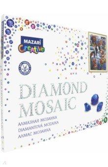 """Алмазная мозаика """"ЗАБАВНЫЕ ЩЕНКИ"""" 40х50 см (M-10218)"""