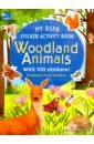 Обложка My RSPB Sticker Activity Book: Woodland Animals