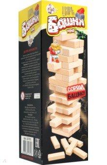 Купить Настольная игра Царь Башня mini (падающая башня) (02791), Десятое королевство, Строим башню
