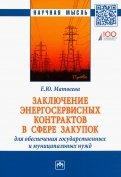 Заключение энергосервисных контрактов в сфере закупок для обеспечения государственных нужд
