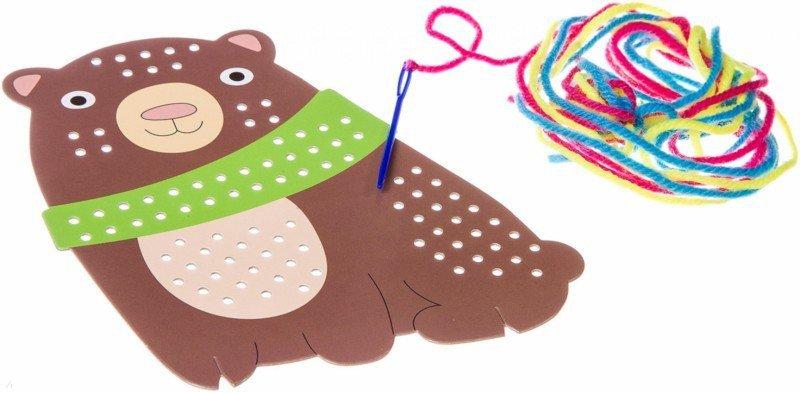 """Иллюстрация 3 из 3 для Набор для творчества. Моя первая вышивка """"Медведь"""" (ВВ2637)   Лабиринт - игрушки. Источник: Лабиринт"""