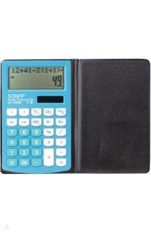 Калькулятор настольный (10 разрядов, голубой) (DC-100NBL (250429)
