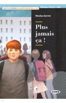 Купить Plus jamais ca (+ CD + App), Black cat, Литература на французском языке для детей