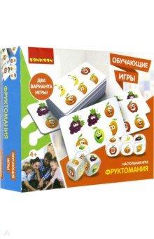 Купить Игра настольная, обучающая ФРУКТОМАНИЯ (ВВ3447), BONDIBON, Обучающие игры