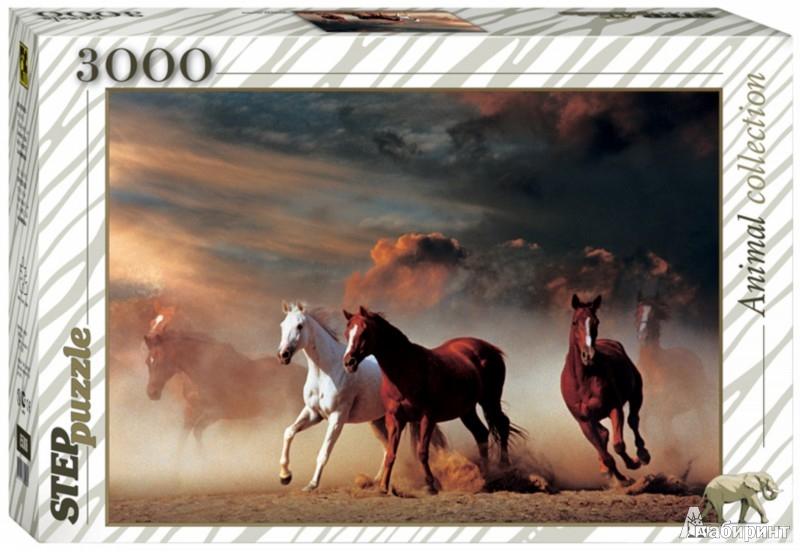 Иллюстрация 1 из 10 для Step Puzzle-3000 85001 Лошади | Лабиринт - игрушки. Источник: Лабиринт