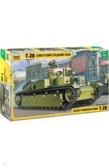Купить Советский средний танк Т-28 1/35 (3694), Звезда, Бронетехника и военные автомобили (1:35)