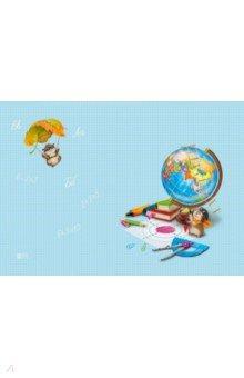 Купить Цветная пленка для уроков труда Глобус (50х70 см) (48316), Феникс+, Доски для лепки, стеки, формы