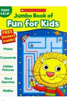 Купить Jumbo Book of Fun for Kids. Workbook, Scholastic Inc., Книги для детского досуга на английском языке
