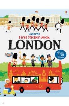 Купить First Sticker Book. London, Usborne, Книги для детского досуга на английском языке