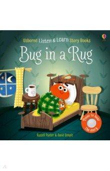 Listen and Learn Stories: Bug in a Rug (board bk), Usborne, Первые книги малыша на английском языке  - купить со скидкой
