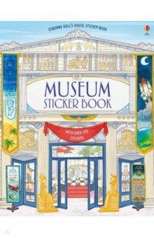 Купить Museum Sticker Book, Usborne, Книги для детского досуга на английском языке
