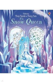 Купить Peep Inside a Fairy Tale. The Snow Queen, Usborne, Первые книги малыша на английском языке