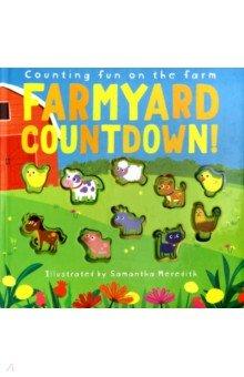 Купить Farmyard Countdown! Counting fun on the farm, Little Tiger Press, Первые книги малыша на английском языке