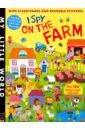 Walden Libby I Spy On the Farm (sticker book)