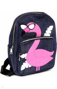 Купить Рюкзак Фламинго (синий) (48824), Феникс+, Рюкзаки школьные