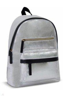 Рюкзак (серебряный, искусственная кожа) (49264)
