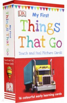 Купить My First Things That Go (16 My First Touch Cards), Dorling Kindersley, Обучающие игры