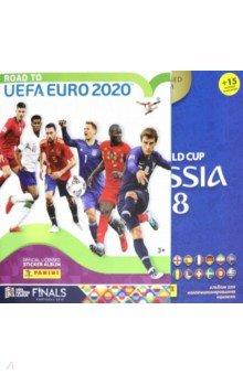 Купить Набор альбомов: EURO 2020 + ЧМ 2018, Panini, Альбомы с наклейками