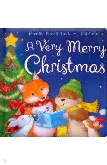 Купить A Very Merry Christmas (board book), Little Tiger Press, Художественная литература для детей на англ.яз.
