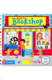 Купить Busy Bookshop (board book), Mac Children Books, Первые книги малыша на английском языке