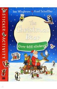 Купить Christmas Bear Sticker Book, Mac Children Books, Книги для детского досуга на английском языке