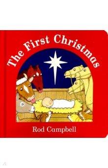 Купить The First Christmas (board book), Mac Children Books, Первые книги малыша на английском языке