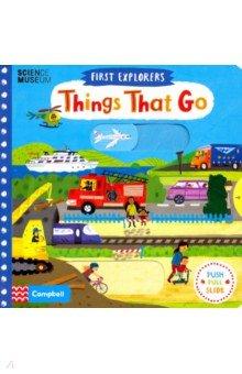 Купить Things That Go (board book), Mac Children Books, Первые книги малыша на английском языке
