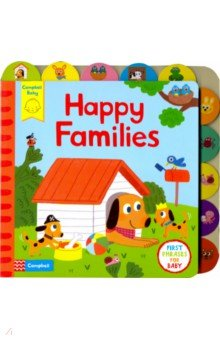 Happy Families (board bk), ISBN 9781447277293, Mac Children Books , 978-1-4472-7729-3, 978-1-447-27729-3, 978-1-44-727729-3 - купить со скидкой